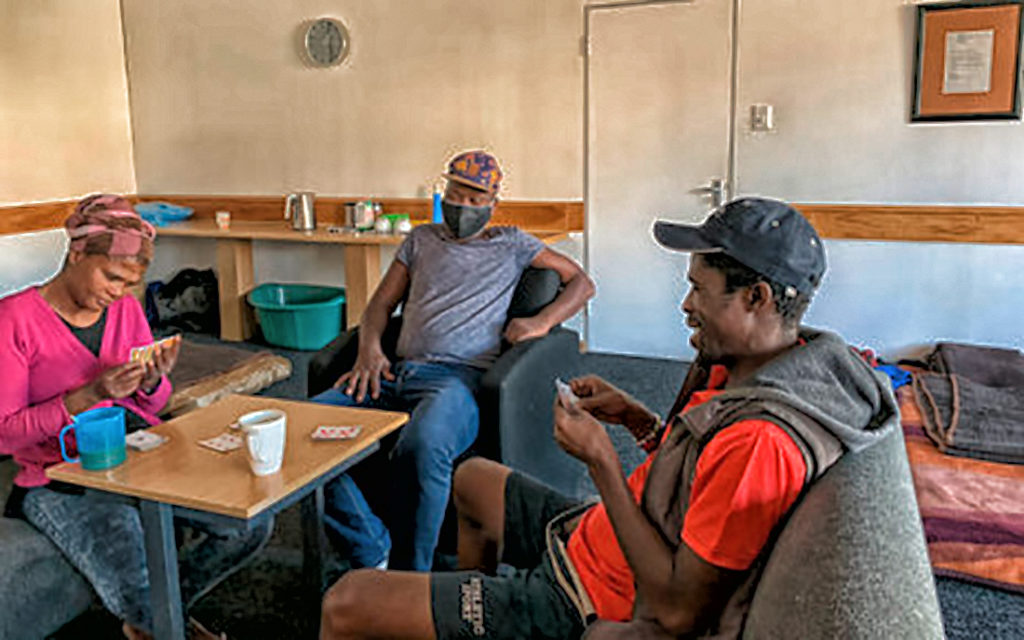 WAIT FOR COCT SAFE SPACE CONTINUES FOR HOMELESS FROM STRANDFONTEIN SITE